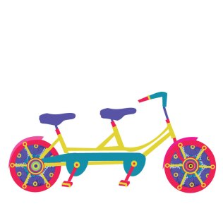 Love balance bike / use: Helps to remember that in love relationships is important to give a balance to shared the same speed, in order to advance